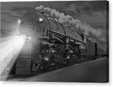 The 1218 On The Move Canvas Print by Mike McGlothlen