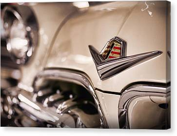 Canvas Print featuring the photograph The 1955 Dodge La Femme by Gordon Dean II