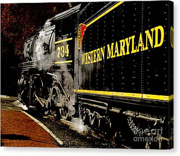 The 734 Canvas Print by Steven  Digman