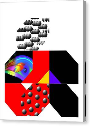 The Abacus Growls Canvas Print