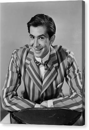The Actress, Anthony Perkins, 1953 Canvas Print