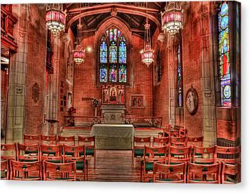 The Altar Canvas Print