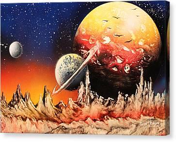 The Alternative Side  Canvas Print by Tony Vegas