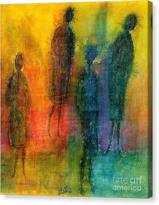 The Angels Among Us Canvas Print by Angela L Walker