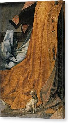'the Annunciation' Painting By Jean Bellegambe Canvas Print by Photos.com