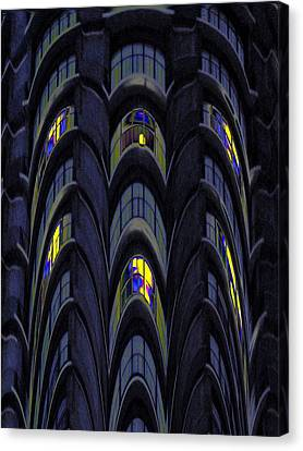 The Apartment Block Canvas Print