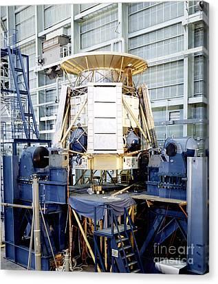 The Apollo Telescope Mount Undergoing Canvas Print by Stocktrek Images