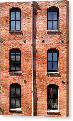 The Argonaut Hotel Back Side At Fishermans Wharf . San Francisco California . 7d14184 Canvas Print by Wingsdomain Art and Photography