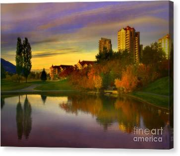 The Arrival Of Autumn Canvas Print by Tara Turner