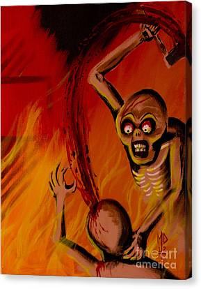 The Arson Murders Canvas Print by Matt Detmer