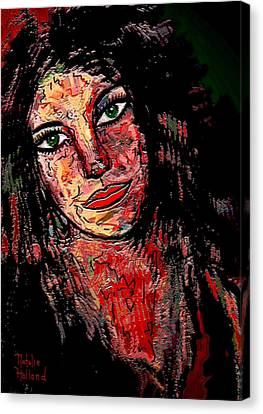 The Artist Canvas Print by Natalie Holland