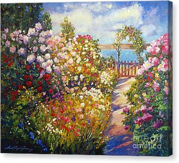 The Artists Dream Fantasy Canvas Print by David Lloyd Glover