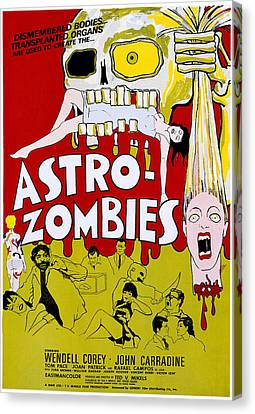 The Astro-zombies, 1968 Canvas Print by Everett