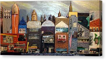 The Avenue Canvas Print by Robert Handler