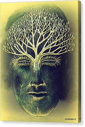 The Awakening Of The Self-awareness Equinox Canvas Print by Paulo Zerbato