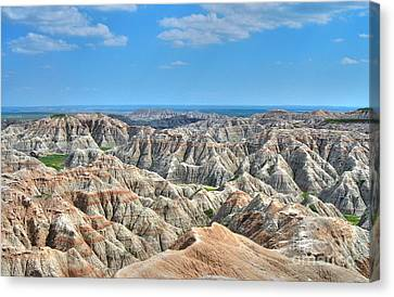 The Badlands Canvas Print by Anthony Wilkening