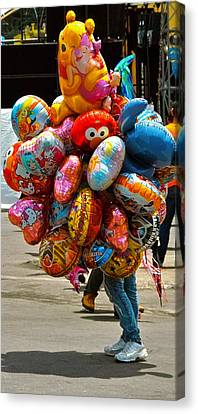 The Balloon Lady Canvas Print