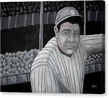 The Bambino Canvas Print