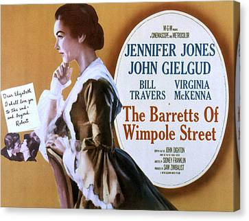 The Barrets Of Wimpole Street, Jennifer Canvas Print by Everett