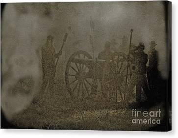 The Battlefield Canvas Print by Kim Henderson