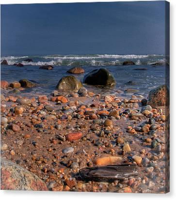 The Beach Canvas Print by David Hahn