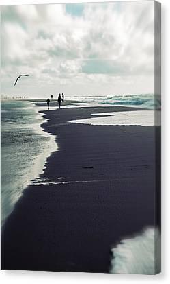 The Beach Canvas Print by Joana Kruse