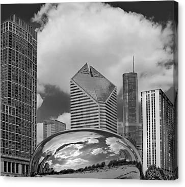 The Bean Chicago Illinois Canvas Print by Dave Mills
