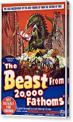 The Beast From 20,000 Fathoms Canvas Print