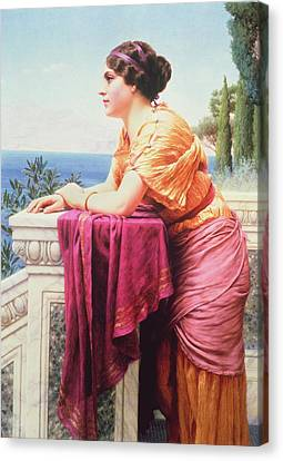 The Belvedere Canvas Print by John William Godward