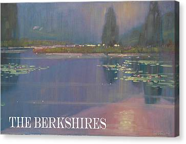 the Berkshires Canvas Print by Len Stomski
