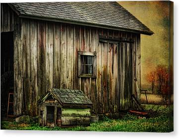 Canvas Print featuring the photograph The Big And The Small by Mary Timman