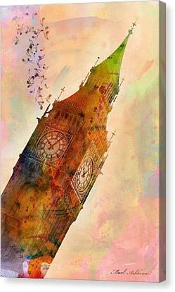 The Big Ben Canvas Print by Mark Ashkenazi