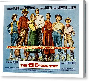 The Big Country, Charles Bickford Canvas Print