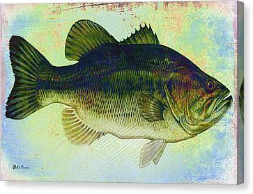 The Big Fish Canvas Print by Bill Cannon