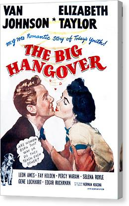 1950 Movies Canvas Print - The Big Hangover, Van Johnson by Everett