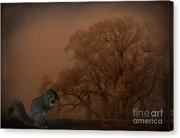 The Big Woods Canvas Print by The Stone Age