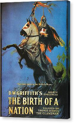 The Birth Of A Nation Canvas Print