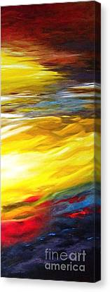 The Birth Of Colour Canvas Print by Diane Daigle