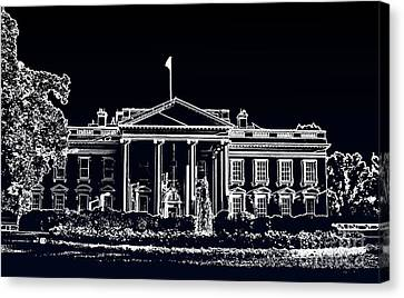 Canvas Print featuring the photograph The Black House by Joe Finney