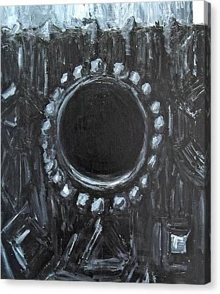 The Black Nest Canvas Print by Kazuya Akimoto