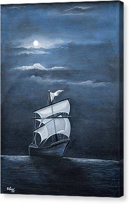 The Black Pearl Canvas Print by Rajeev M Krishnan