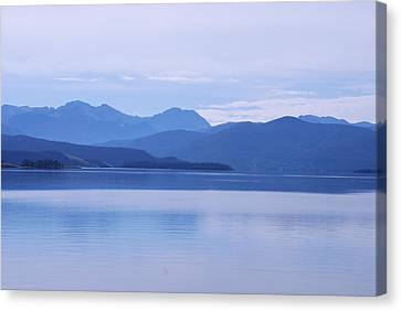 The Blue Shore Canvas Print