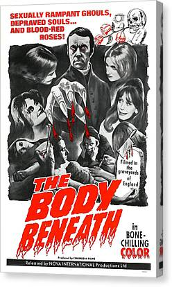 The Body Beneath, Center Top Gavin Reed Canvas Print by Everett