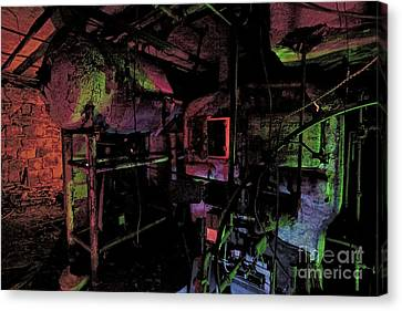 The Boiler Room Canvas Print by Keith Kapple