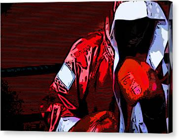 The Boxer Canvas Print by Rpics Rpics