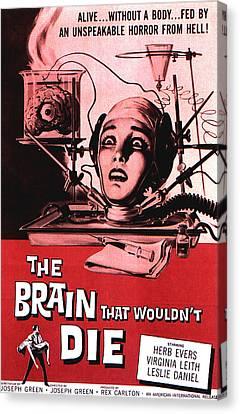 The Brain That Wouldnt Die, Virginia Canvas Print by Everett