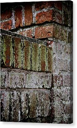 The Bricklayer's Art Canvas Print by Odd Jeppesen