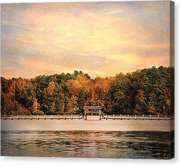 The Bridge Canvas Print by Jai Johnson