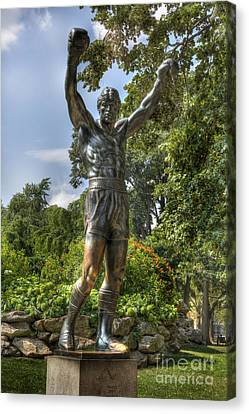 The Bronze Stallion II - Rocky Balboa - Philadelphia - Pennsylvania - Rocky Steps Canvas Print by Lee Dos Santos