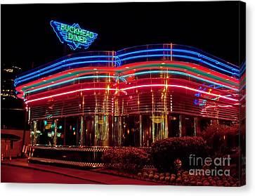 Atlanta Convention Canvas Print - The Buckhead Diner Atlanta by Corky Willis Atlanta Photography